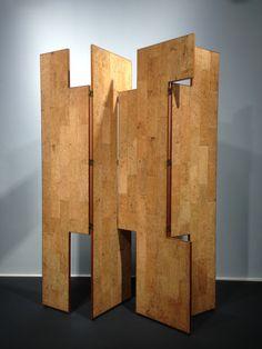 Eileen Gray, cork screen at IMMA
