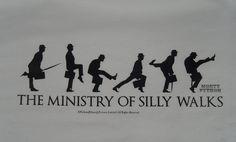 silly walk - Google Search