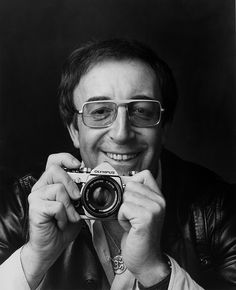 """Peter Sellers, shot by Adrian Flowers for an Olympus ad campaign in The original ad ran with the copyline """"No prizes for guessing the name"""". Classic Camera, Business Portrait, Film School, Famous Photographers, Celebrity Photographers, Portraits, Vintage Cameras, New Shows, Olympus"""