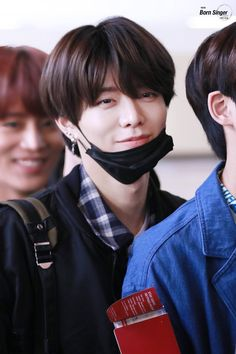 Yuta's beautiful healing smile ft. Taeil being Taeil in the background