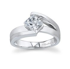 Round Solitaire Engagement Ring - 7087LW