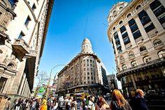Центр Буэнос-Айреса. Аргентина