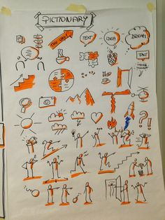 bikablo - Google keresés Visual Management, Visual Note Taking, Doodle People, Doodle Fonts, Note Doodles, Artist Sketchbook, Sketch Notes, Doodle Sketch, Stick Figures