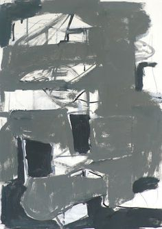 Vincent Hawkins - Brritish artist Painting Collage, Artist Painting, Painting & Drawing, Abstract Paintings, Grey Abstract Art, Grey Art, Contemporary Paintings, Abstract Expressionism, Les Oeuvres