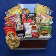 Saber-tooth Paleo Gift Basket - A generous basket perfect to send to an office