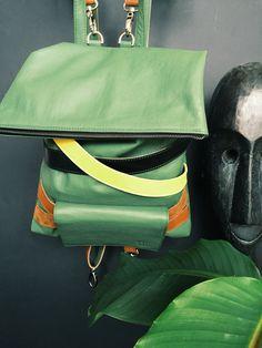 j u n g l e s a c k #bag #leathercraft #handmade