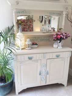 A personal favourite from my Etsy shop https://www.etsy.com/uk/listing/295284525/beautiful-vintage-shabby-chic-dresser