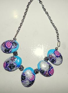 multi color ketting
