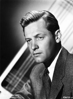 William Holden, 1940s. He was so dreamy.