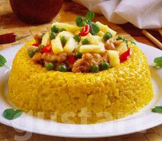 Lajos Mari konyhája - Currys-csirkés rizskorona