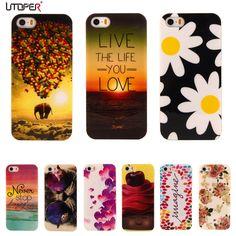 Per iphone 5 s della cassa del fiore del fumetto del modello tpu per apple iphone 5 protettiva del telefono per iphone5 5 s iphone se coque copertura
