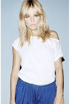 sienna miller in Twenty8Twelve by S. Miller Troy Tee  www.boutiquetoyou.com