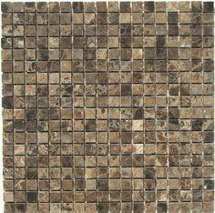 Idea for tile backsplash-looks similar to the kitchen table.