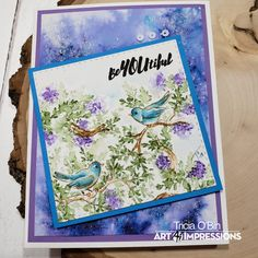 Announcing the debut of our FIVE new Bible Journaling stamp sets, now available on our website! Art Impressions Stamps, New Bible, Different Birds, Step Cards, Journal Aesthetic, Bird On Branch, Autumn Painting, Instagram Blog, Journal Inspiration