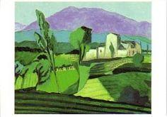 Postkaarten Near Vaison la Romaine or Mont Ventoux, 1996 Jeroen Krabbe C11315 Kunst, Postkaarten, Frankrijk, Landschappen,