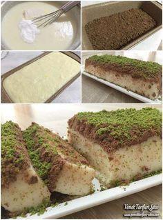 Bisküvili Sütlü İrmik Tatlısı Tarifi