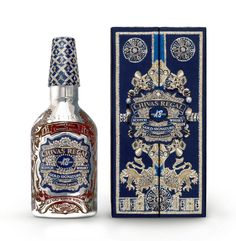 Chivas Regal packaging by Christian Lacroix, 2011 Blended Whisky, Creative Review, Crown Royal, Christian Lacroix, Scotch Whisky, Historical Costume, Fashion History, Design Crafts, Creative Director