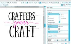 Using Silhouette Studio Properties to Remember Font Names and Styles