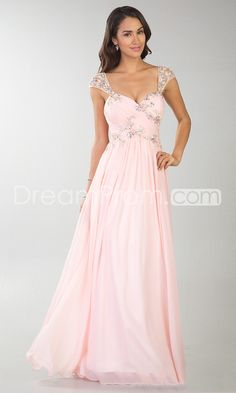 2014 New Floor-length Sweetheart A-Line Chiffon Prom Dresses