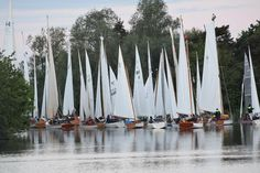 The 57th annual Navigators & General Three Rivers Race took place over the weekend of 3rd-4th June, hosted by Horning Sailing Club. As the 85 starters listened to the briefing, the key questions on everyone's mind were how long the race was going to be.