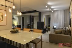 Apartamento pequeno integrado masculino