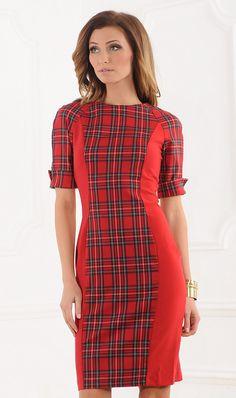 LuAnn check dress
