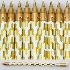 Gold Zig Zag pens!!