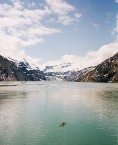 ...kayak Glacier Bay, Alaska