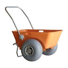 WheelEEZ® Beach Cart is the perfect cart when you have a lot to carry. The versatile Beach Cart doubles as a garden utility cart. Tote With Wheels, Fishing Cart, Beach Wagon, Kayak Storage Rack, Aquaponics Kit, Aquaponics Plants, Bike Cart, Beach Cart, Beach Hacks