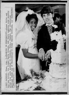 1970  Interracial Marriage, Shocking!