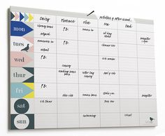 weekly planner pad : pastel by lollipop designs | notonthehighstreet.com