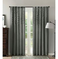 Product: Madison Park® Aria Gathered Curtain Panel