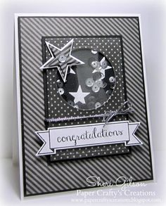 Congratulations, TPE251, SSSC220 by PaperCrafty - Cards and Paper Crafts at Splitcoaststampers