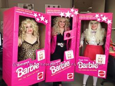 This year the graphics department at my office decided we would go as different Barbie dolls complete with their own individual packaging! We handmade...