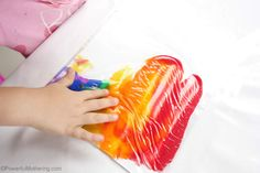 tired of messy art? This rainbow in a bag is perfect for a sensory and mess fix without the mess! Its great for babies toddlers preschoolers. Toddler Activities Daycare, 6 Month Baby Activities, Rainbow Activities, Nursery Activities, Rainbow Crafts, Art Activities For Kids, Daycare Crafts, Montessori Toddler, Infant Activities