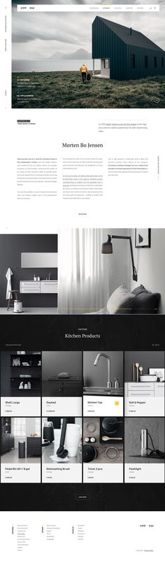 Vipp-Furniture-Site #ui #ux #userexperience #website #webdesign #design