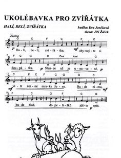 ukolébavka pro zvířátka Music Do, Kids Songs, Music Education, Pre School, Excercise, Preschool Activities, Fairy Tales, Sheet Music, Poems