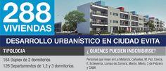 Desarrollo PROCREAR Ciudad Evita Explore, Cities, Exploring