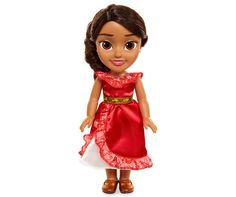 Disney Elena of Avalor Baby & Toddler 2 Pack (Exclusive) Disney Princess Toddler Dolls, Disney Barbie Dolls, Barbie Kids, Royal Ball Gowns, Black Haircut Styles, Brown Curly Hair, Jojo Bows, Curly Hair Styles, Model