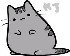 Pusheen the cat by PeachKirbyCutie.deviantart.com on @DeviantArt