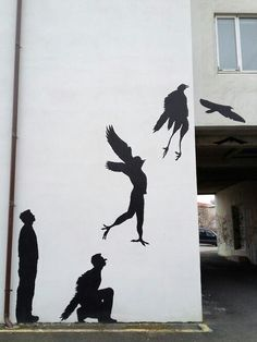 Existential street art.