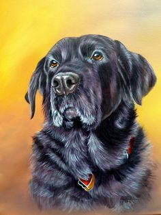 """""""Faithful friend"""" - acrylic on canvas. This was work I did for art tutor.com and is available as a PDF tutorial"""