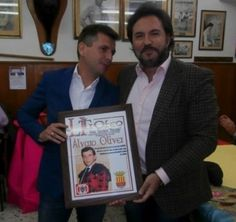 La Peña Pacorro premia a Daniel Ruiz y a Alvaro Oliver