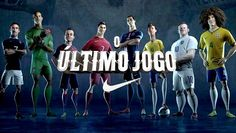 David Luiz, Cristiano Ronaldo, Neymar e Ronaldo Fenômeno estão no vídeo da Nike sobre a Copa 2014! A animação ficou muito legal, vale a pena assistir http://geleia.tv/1lNWkgu