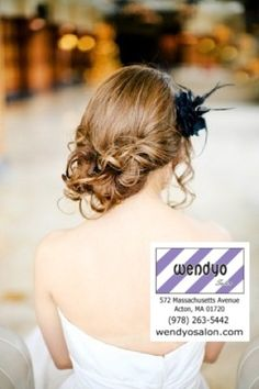 Side swept low messy bun -great for #prom or #bridesmaid #hair! #wedding #bride #popular #fashion #style