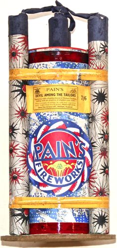 from Maurice Evans' fireworks collection. Standard Fireworks, 4th Of July Fireworks, Fourth Of July, Guys 21st Birthday, Birthday Beer, Birthday Cakes, Sorority Canvas, Sorority Paddles, Sorority Recruitment
