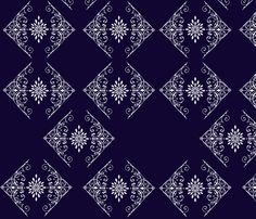 French_provincial_inspiration_spoonflower fabric by trixiepop on Spoonflower - custom fabric