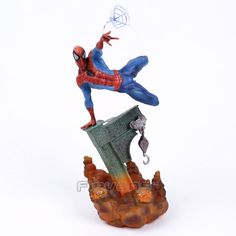 (29.36$)  Watch more here - http://ai0ry.worlditems.win/all/product.php?id=32767183306 - Sideshow Marvel Spiderman The Amazing Spider-man PVC Figure Collectible Model Toy 2 Colors 29cm