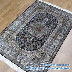x Double Knots Persian Rug Made By Yilong. Silk Carpet, Handmade Rug, Silk Rug, Rugs, Carpet Stores, Home Decor, Rug Making