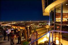 Terrasse @Bar das TURM Restaurant, Wrestling, Bar, Gourmet, Patio, Hoods, Viajes, Pictures, Full Moon